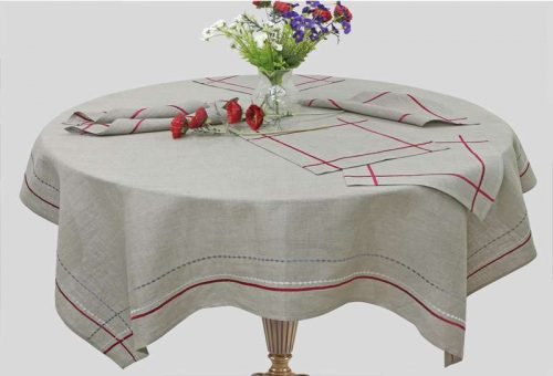 "Linen Tablecloth ""Tradition"""
