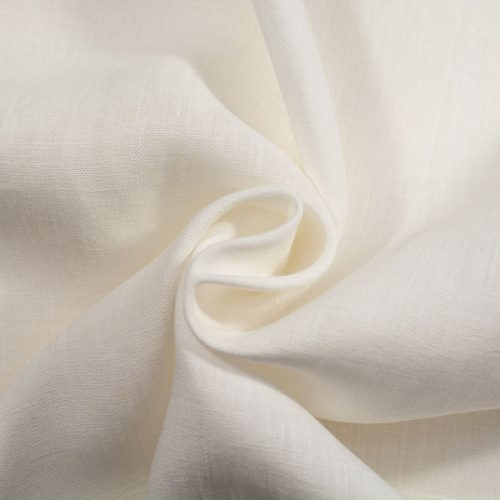 Linen Fabric Optical White