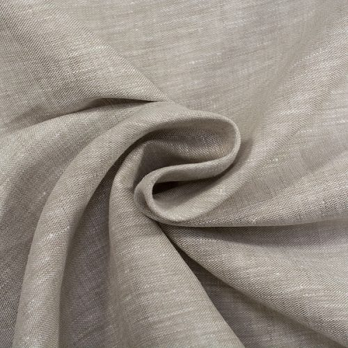 Linen Fabric Natural Gray