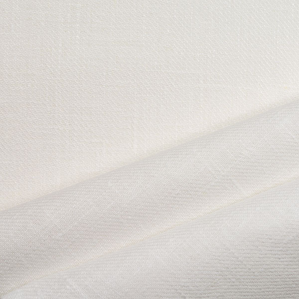 Linen Decorative Fabric White