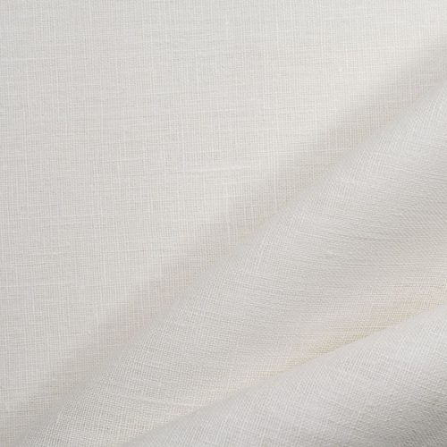 Linen Fabric Decorative White