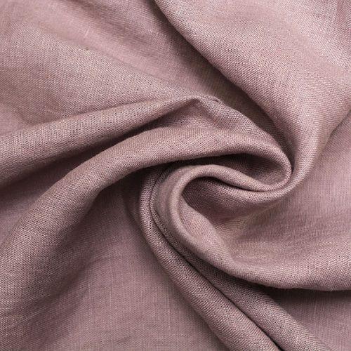 Linen Fabric Stonewashed Lavanda