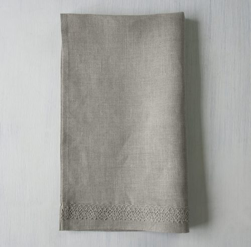 Linen Hand Towel Natural