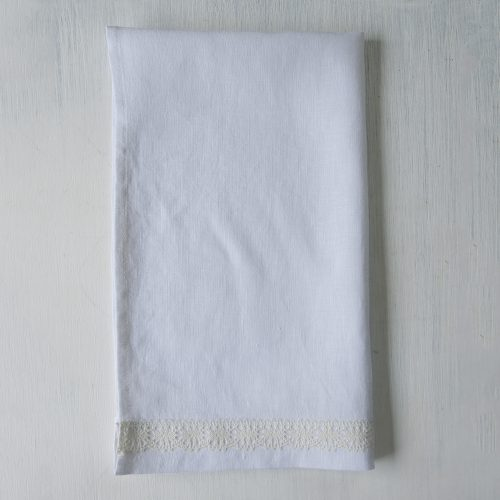 Linen Hand Towel White
