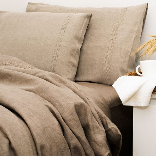Pure Linen Bedding Organic