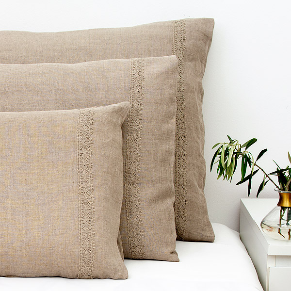 Pure Linen Pillowcase Nature