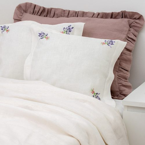 Pure Linen Bedding Lavender